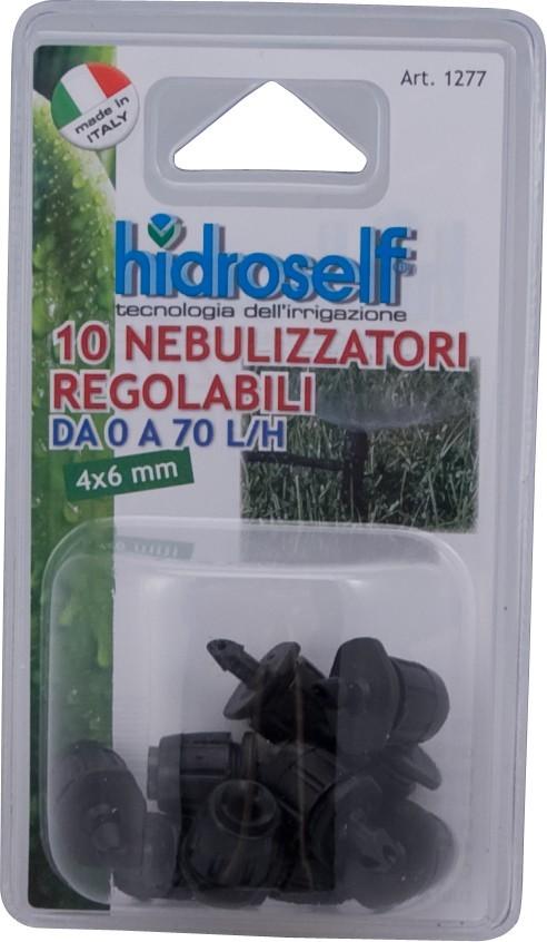 10 Gocciolatore regolabile Vortice diametro di nebulizzazione mt 1,5
